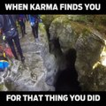 What goes around, ALWAYS comes back around.