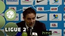 Conférence de presse Tours FC - Valenciennes FC (1-0) : Marco SIMONE (TOURS) - Faruk HADZIBEGIC (VAFC) - 2015/2016