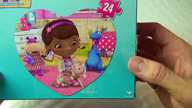 Doc Mcstuffins Puzzle!!!Lets Put it together!!! FUN!!!