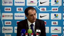 Réactions des entraîneurs après Tours FC - Valenciennes FC
