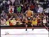 DWAYNE THE ROCK JOHNSON VS. GOLDBERG - WWE Wrestling - Sports MMA Mixed Martial Arts Entertainment