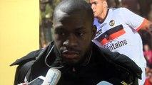 L1-J27 La réaction de Yannis Salibur après Lorient (4-3)
