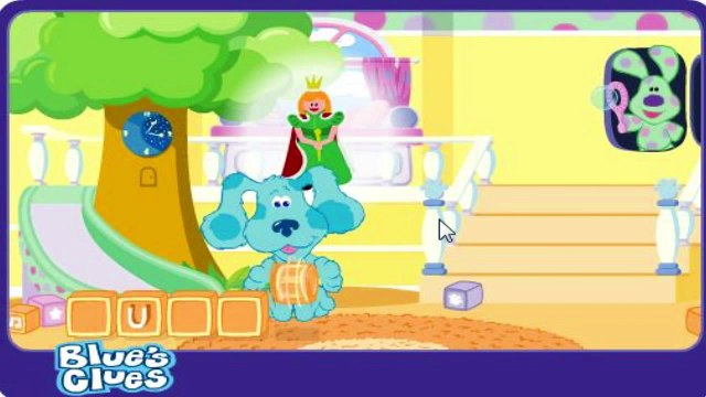 Blues Clues Bubble Puzzel - Blues Clues Games