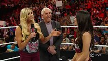 WWE Raw-Charlotte makes things even more personal with Brie Bella Raw, February 15, 2016