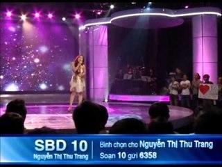 [ Top 8 Nữ ] Thí sinh Nguyễn Thị Thu Trang - SBD 10
