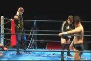 01.18.2016 Atsushi Aoki & Atsushi Maruyama vs. Team Yamato (Daichi Hashimoto & Kazuki Hashimoto) (BJW)