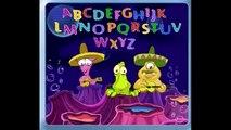Изучаем английский язык поем алфавит учим цифры буквы и цвета Развивающий мультик для малышей!