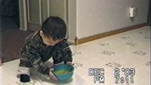 Boy Attempts To Clean, Spills Soup Everywhere