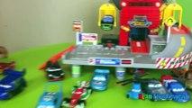 Disney Pixar Cars Toys Ferris Wheels Tomy Big Parking Lightning McQueen Kinder Egg Surprise Toys