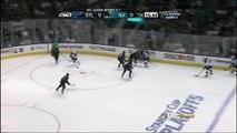 Elliott stop on Couture break away. St. Louis Blues vs SJ Sharks 41912 NHL Hockey