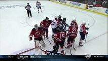 Martin Brodeur saves late 1st. Florida Panthers vs NJ Devils 41712 NHL Hockey