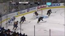 Ryan Miller robs Frattin. Toronto Maples Leafs vs Buffalo Sabres 4312 NHL Hockey