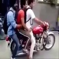 Best of stupid people on motorized vehicles  Funny Videos 2015