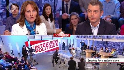 La Supplément du 21/02 - Interview de Ségolène Royal - CANAL +