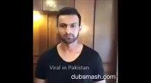 Faryal Makhdoom, Amir Khan & Shoaib Malik Funny Dubsmash