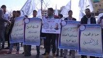 Açlık Grevindeki Filistinli Tutuklu Gazeteci Kıyk'a Destek Gösterisi