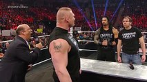 WWE FASTLANE 2016-BROCK LESNAR vs ROMAN REIGNS vs DEAN AMBROSE -  [WWE 2K16]