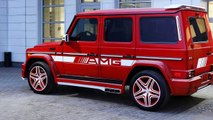Mercedes-Benz G-Class G63 AMG TopCar Tuning Package