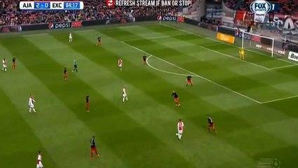 Гол Дэви Классен · Аякс (Амстердам) - Эксельсиор (Роттердам) - 3:0