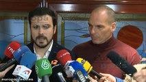 """Garzón: """"Lo importante de la reunión es que seamos sinceros"""""""
