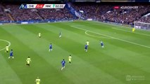 Manchester City Big Chance Miss - Chelsea v. Manchester City (FA Cup) 21.02.2016 HD
