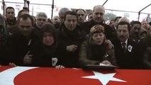 Şehit Jandarma Astsubay Gümüş, Son Yolculuğuna Uğurlandı (1)