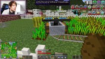 DanTDM Minecraft | HEROBRINE IS HERE 243 | Diamond Dimensions Modded Survival #243