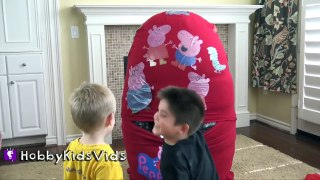 Cut Scenes FIRST BIGGEST Peppa Egg Play HobbyBaby