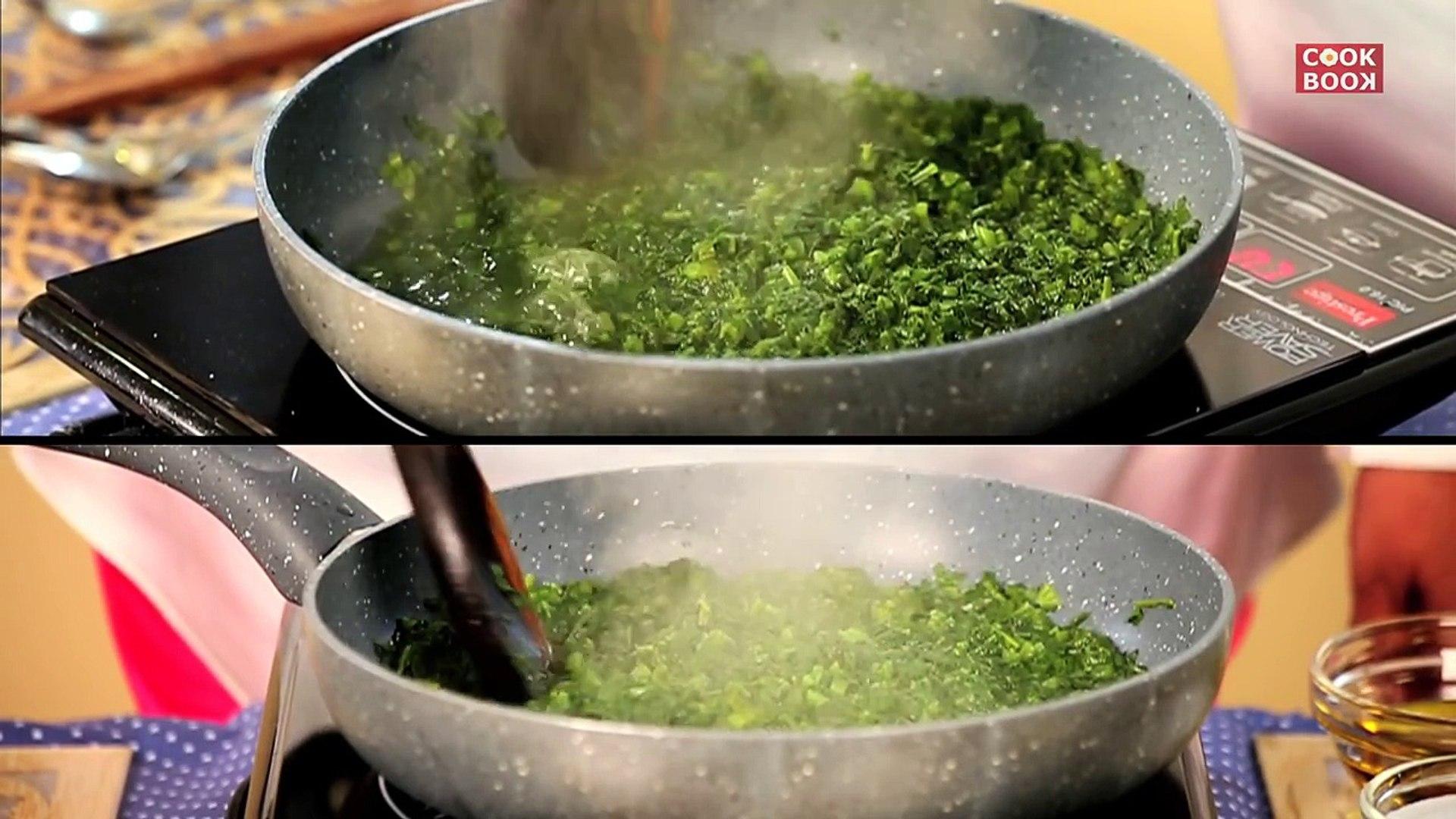 Sarson Ka Saag Mustard Greens With Spinach Recipe By Manjula Dailymotion Video