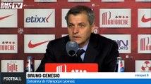 """Lille - Lyon / Genesio : """"Je suis déçu"""""""