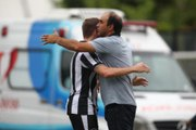 Ricardo Gomes sobre vitória do Botafogo: 'Dominamos, mas não fomos brilhantes'