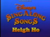 Opening To Disney's Sing-Along Songs:Heigh-Ho 1987 VHS (Canadian Copy)
