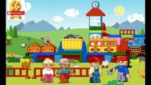 Мультик про Лего поезд. Мультики про машинки и паровозики для мальчиков. Мультики про паровоз.