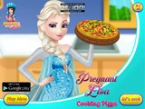 Disney Frozen Games - Pregnant Elsa Cooking Pizza – Best Disney Princess Games For Girls And Kids