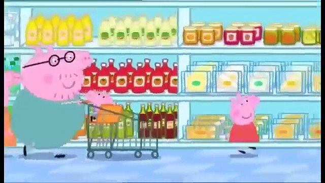 MLG peppa pig goes shopping