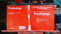 Download PDF  Holt McDougal Psychology Principles in Practice Readings and Case Studies in Psychology FULL FREE