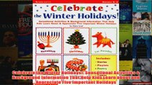 Download PDF  Celebrate the Winter Holidays Sensational Activities  Background Information That Help FULL FREE