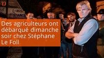 Exaspéré, Stéphane Le Foll répond à des agriculteurs venus manifester chez lui