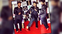 Arjun Kapoor Wears Girls High Heel SANDAL @ Zee Cine Awards 2016