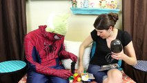 Surprise Toys on STAR WARS DAY Party with Death Star Piñata, Surprise Eggs, Spiderman Yoda