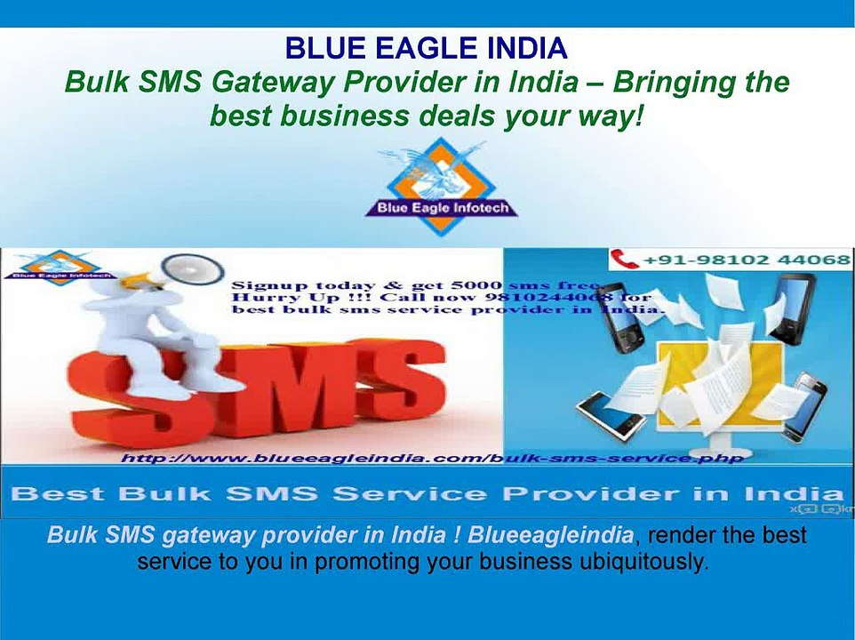 best free bulk sms service provider in india