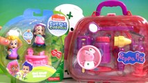 Play Doh Bubble Guppies Molly & Nurse Peppa Pig Medical Case at the Mermaids Check-Up Center