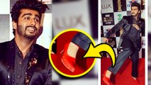 (VIDEO) Arjun Kapoor Wears RED Hot High Heels | Zee Cine Awards 2016