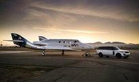 Land Rover, en el debut del Virgin Galactic SpaceShipTwo