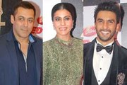 Salman, Kriti, Arjun, Kajol at red carpet of Zee Cine Awards