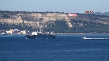 Çanakkale- Rus Savaş Gemisi Akdeniz'e İniyor