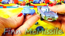 Cars 2 Stamps Play Doh Molds Lightning McQueen Mater Francesco Luigi Guido Disney Pixar Cars Toys