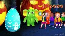 Halloween Surprise Eggs | Halloween Trick or Treat Costumes | Spooky Halloween Surprise | ChuChu TV
