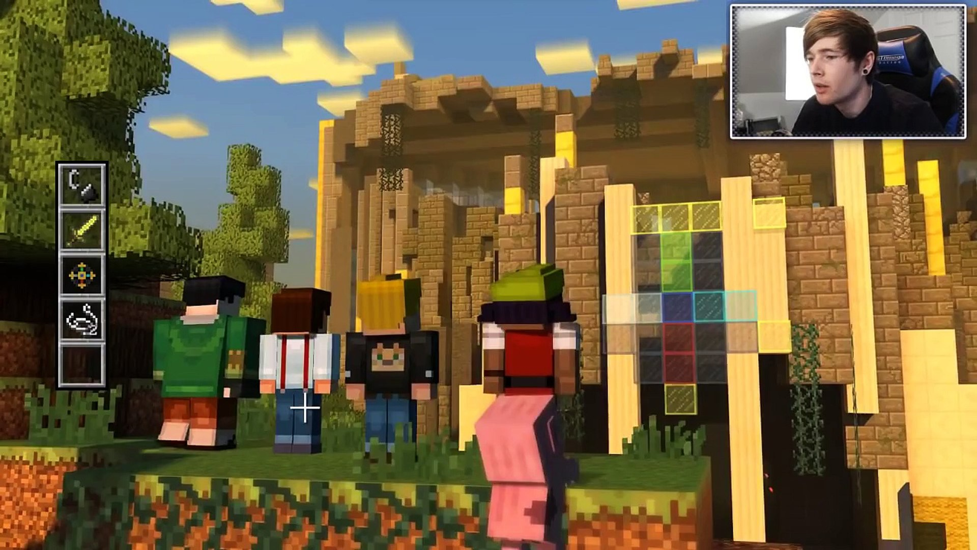 Minecraft Story Mode Greatest Dirt House Ever Episode 1 4