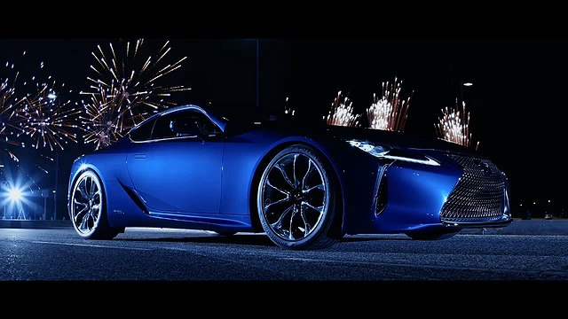 Lexus LC 500h Revealed